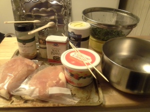 """Prep work is faster if you gather all of your utensils and ingredients before you start. This is what's called """"mise en place"""" in the culinary world."""