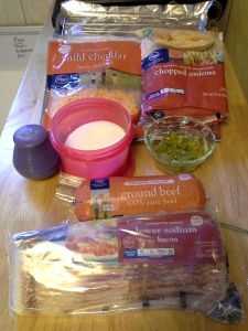 Bacon-Wrapped Chile Cheeseburger Ingredients