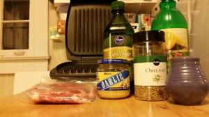 #LowCarbRecipe: Lemon & Oregano Marinated Pork Chop