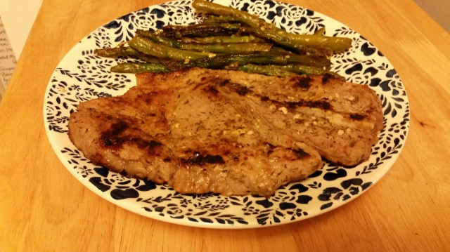 #LowCarbRecipe: Lemon & Oregano Marinated Pork Chop