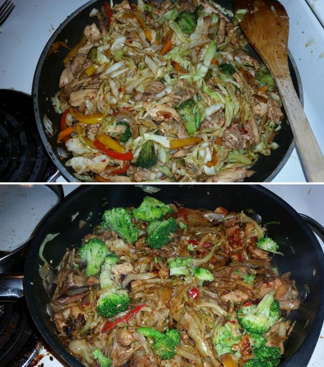 Faux Lo Mein - Chicken or Pork