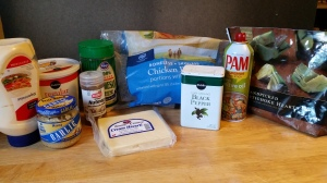 Creamy Chicken and Artichoke Casserole Ingredients