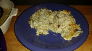 Creamy Chicken and Artichoke Casserole