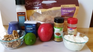 Ingredients for Curried Chicken Salad | LowCarbKaye.com
