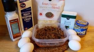 Low-Carb Taco Pie Ingredients | LowCarbKaye.com